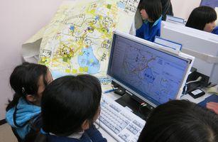 ネットによるマップ作成支援のイメージ